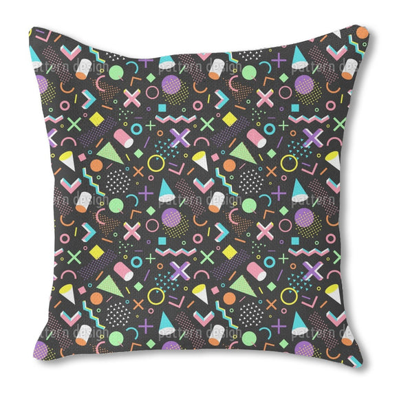 Nineties Memory Outdoor Pillows