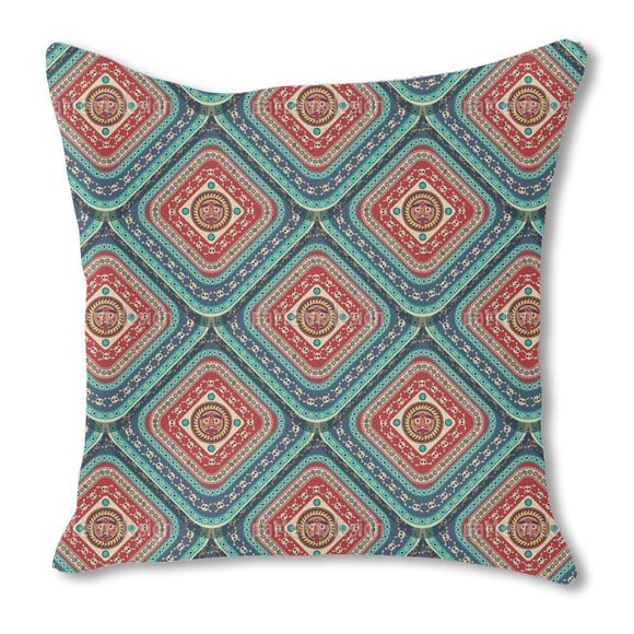 Aztec Skulls Outdoor Pillows