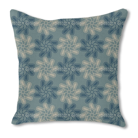 The Geometry of Blooms Outdoor Pillows