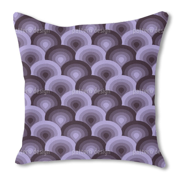 Retro Hot-Air Ballons Outdoor Pillows