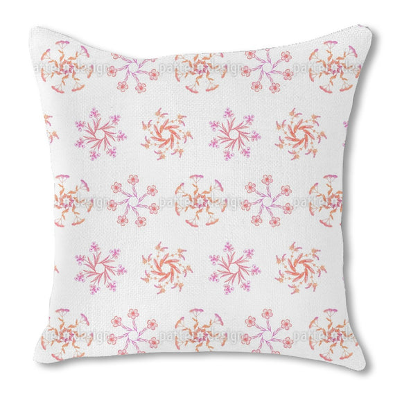 Wildflower Wreaths Outdoor Pillows