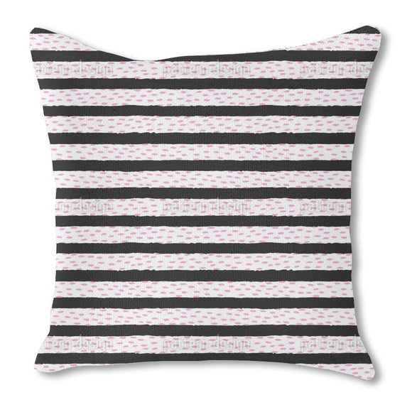 Balks With Abstract Rhombs Outdoor Pillows