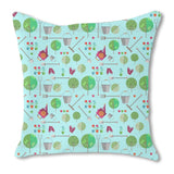 Agriculture or Horticulture Outdoor Pillows