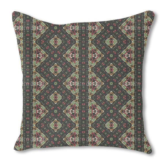 Jungle Border Outdoor Pillows