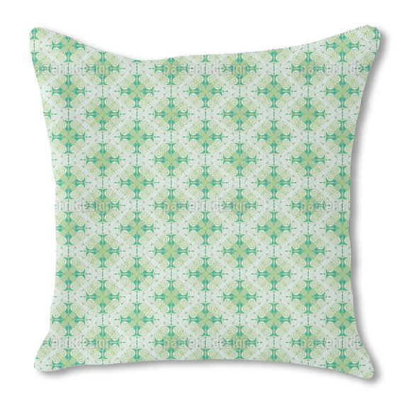 Swirled Ornaments Outdoor Pillows