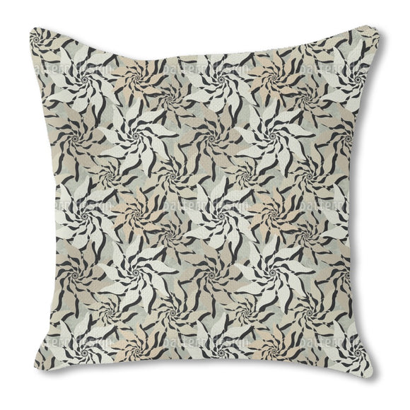 Flowers Of The North Outdoor Pillows