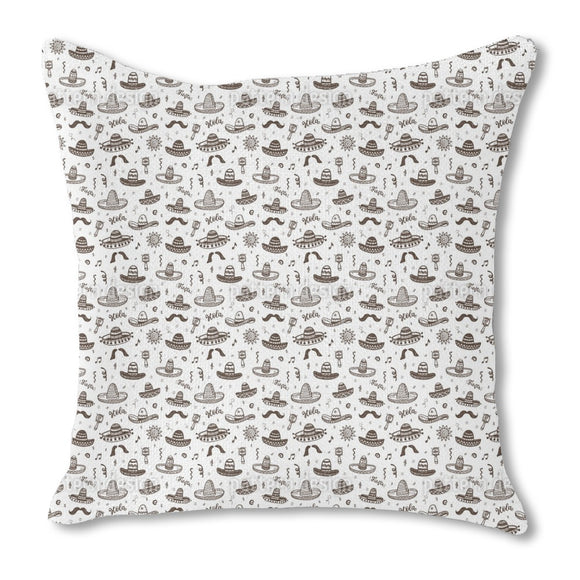 Fiesta Mexicana  Outdoor Pillows