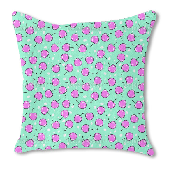 Exotic Cherries Outdoor Pillows