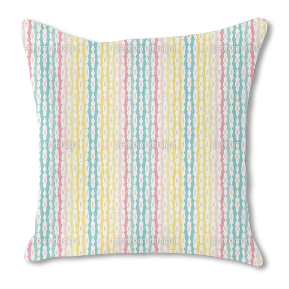 Stripes And Gaps Outdoor Pillows