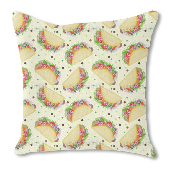 Yummi Taco Day Outdoor Pillows