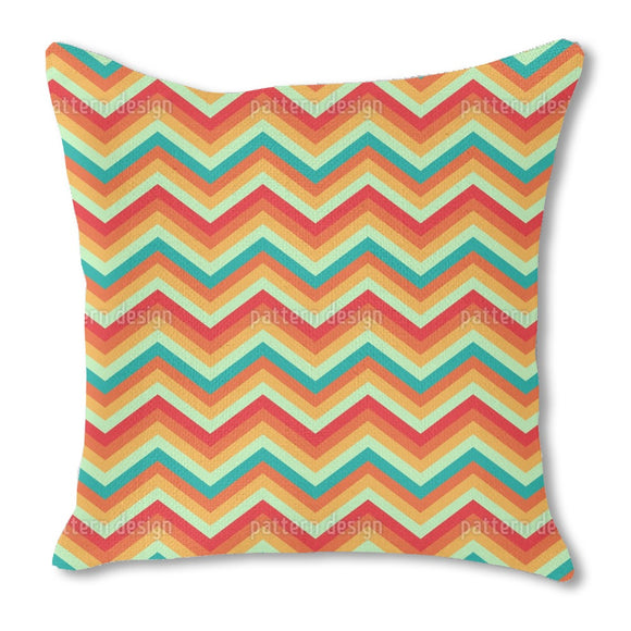 Retro ZigZag Outdoor Pillows