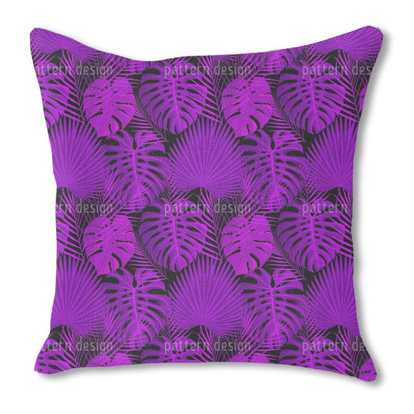Tropical 1980s Outdoor Pillows