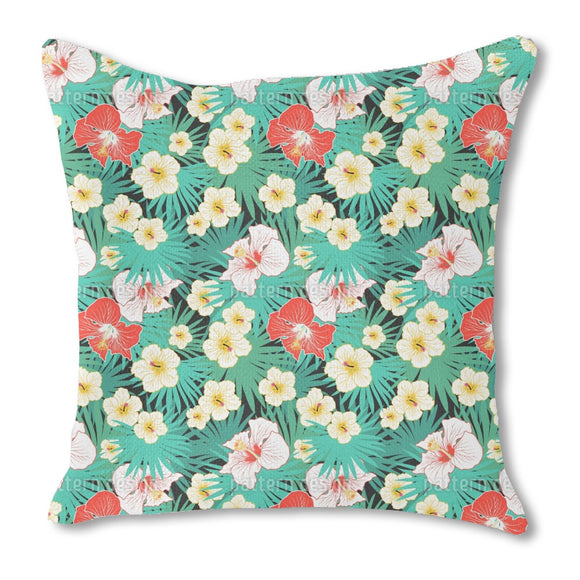 Tropical Bouquet Outdoor Pillows