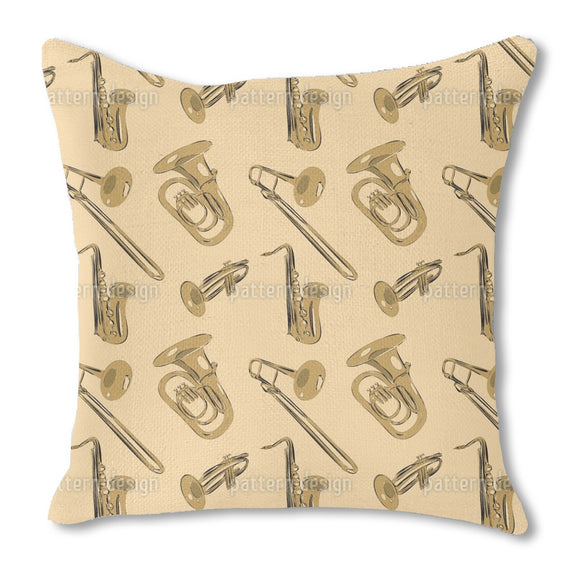 Bourbon Street Parade Outdoor Pillows