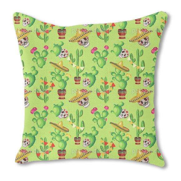 Cinco De Mayo Celebration Outdoor Pillows
