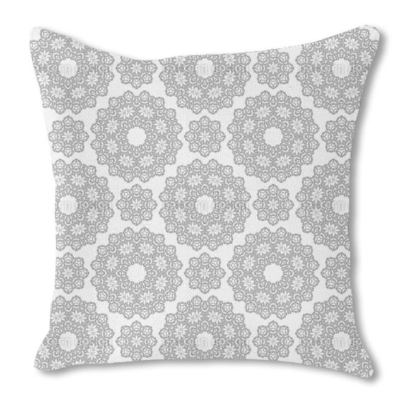 Fine Mandalas Outdoor Pillows