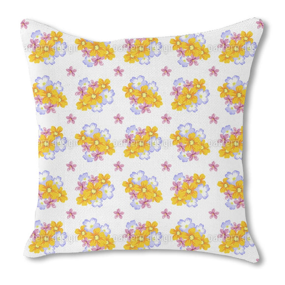 Floral Arrangement Outdoor Pillows