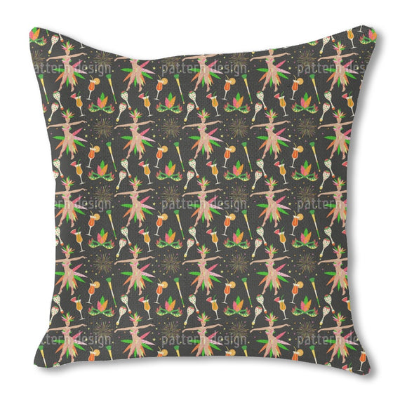 Brazilian Party Outdoor Pillows