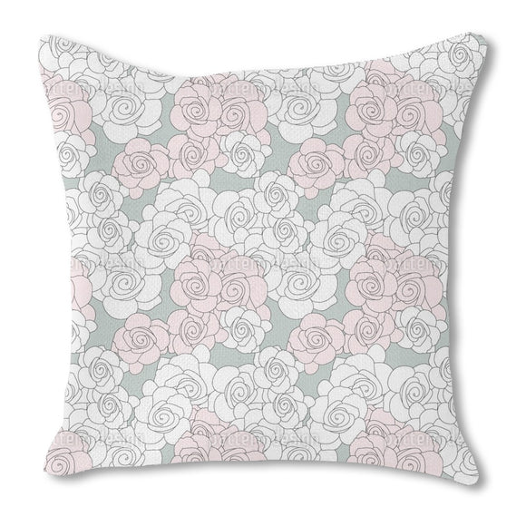 Rose Roses Outdoor Pillows