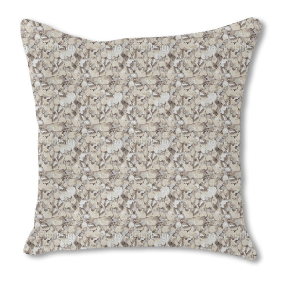 Sand Under The Microscope Outdoor Pillows