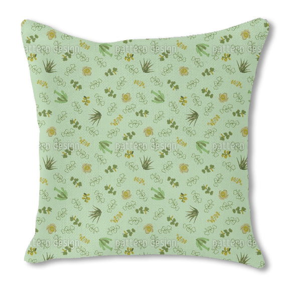 Succulent Love Outdoor Pillows