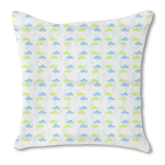 Fish Couple Outdoor Pillows