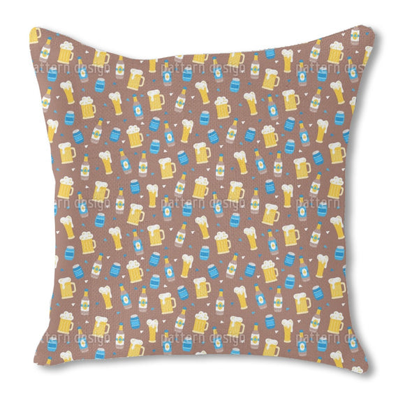 Octoberfest Beer Outdoor Pillows