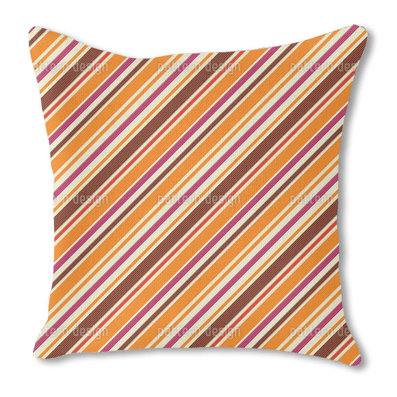 Seventies Stripes Outdoor Pillows