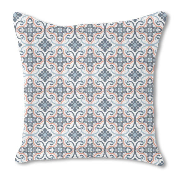 Elegant Tiles Outdoor Pillows
