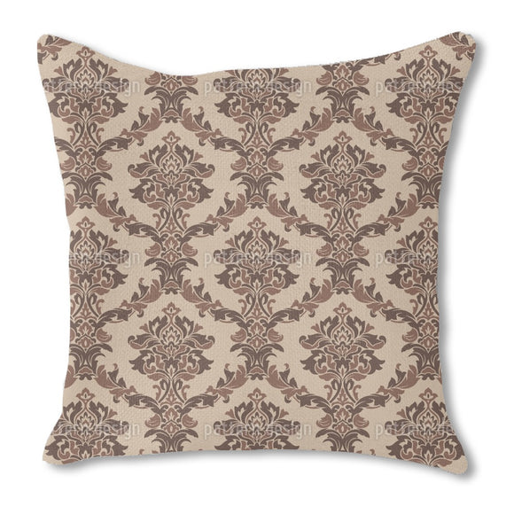 Classy Noble Damask Outdoor Pillows