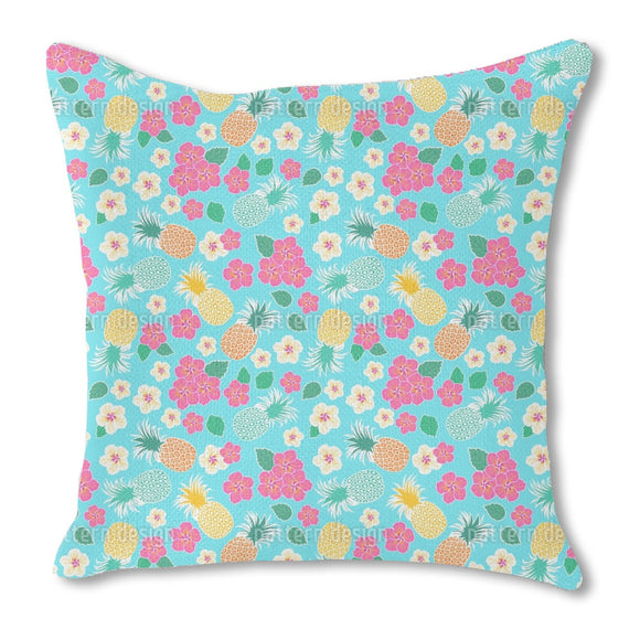 Tropical Dance Outdoor Pillows