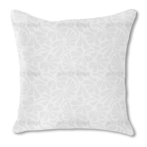 Floral Paleness Outdoor Pillows