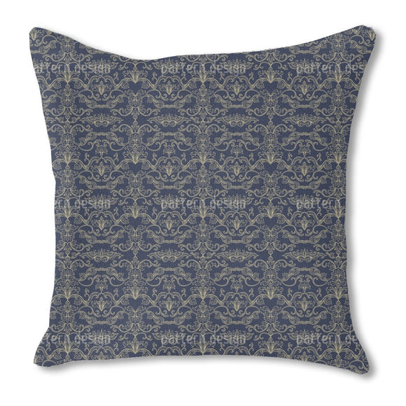 Rich Arabesques Outdoor Pillows