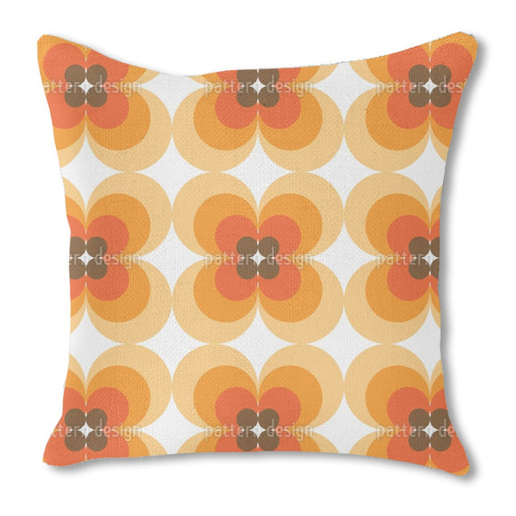 Iconic 60s Flower Outdoor Pillows