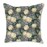 Floral Skull Outdoor Pillows