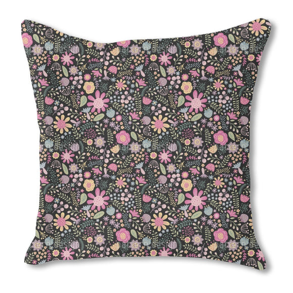 Floral Diversity Outdoor Pillows