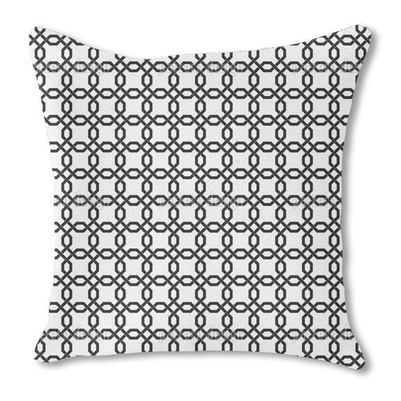Chain Mail Outdoor Pillows