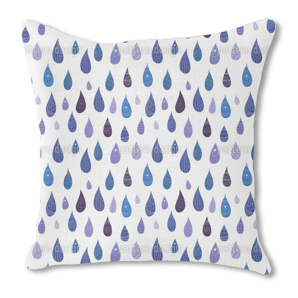 Decorated Drops Outdoor Pillows