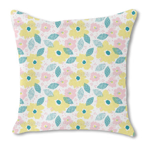 Raster Bloom Outdoor Pillows