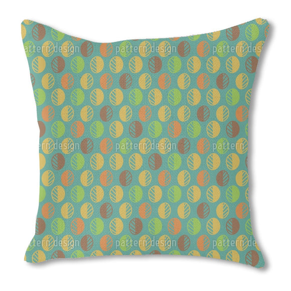 Scandinavian Style Leaves Outdoor Pillows