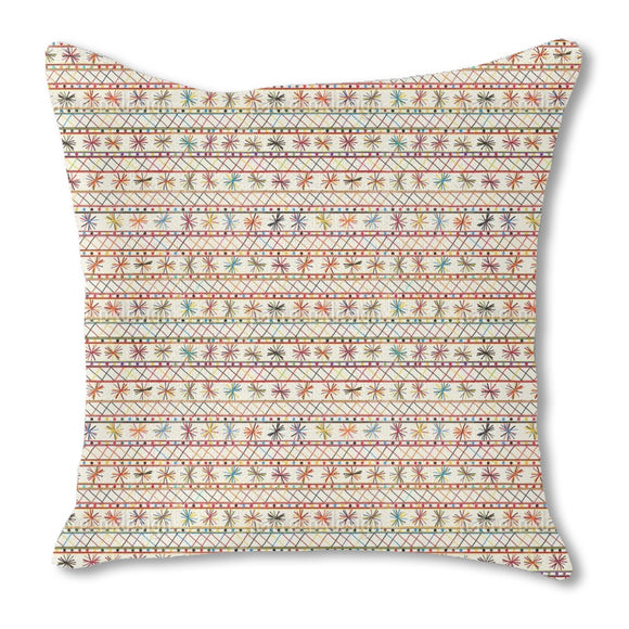 Cheerful Tribal Outdoor Pillows