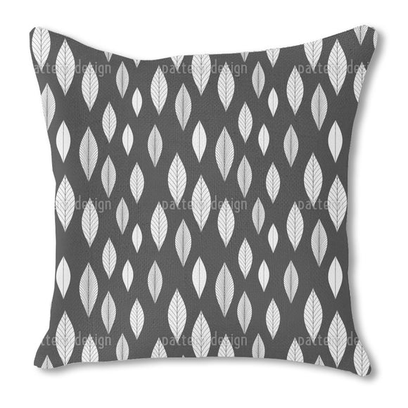 Straight Leaves Outdoor Pillows
