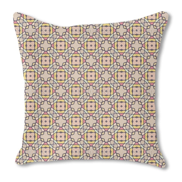 Kaleidoscopic Tiles Outdoor Pillows