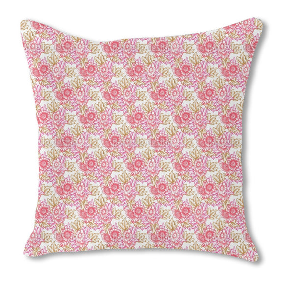 Nostalgic Bouquet Outdoor Pillows