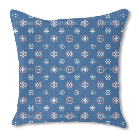 Geo Flower Outdoor Pillows
