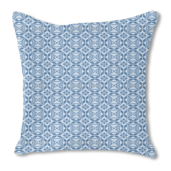 Artful Embroidered Outdoor Pillows