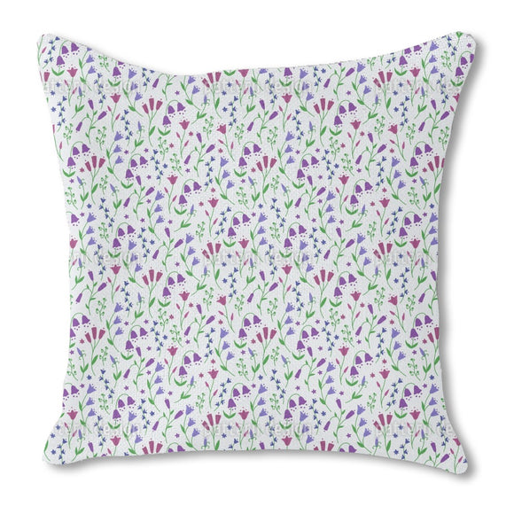 Snowdrop Ring Outdoor Pillows