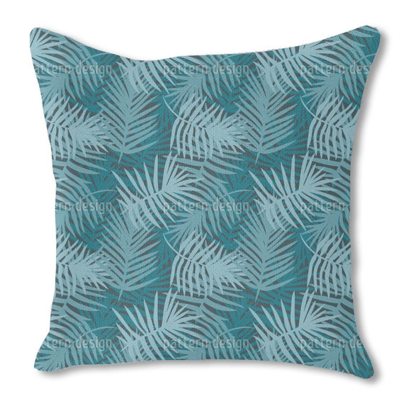 Tropical Leaf Dream Outdoor Pillows