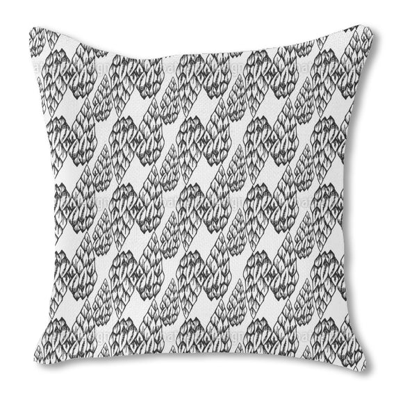 Snake Skin Scales Outdoor Pillows
