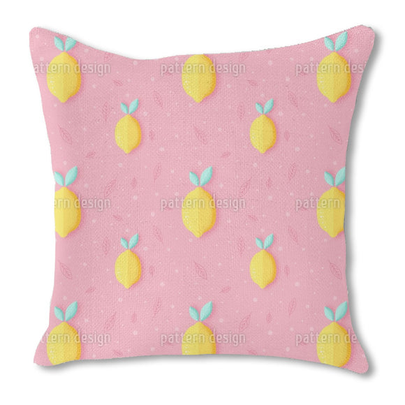 Grainy Lemons Outdoor Pillows
